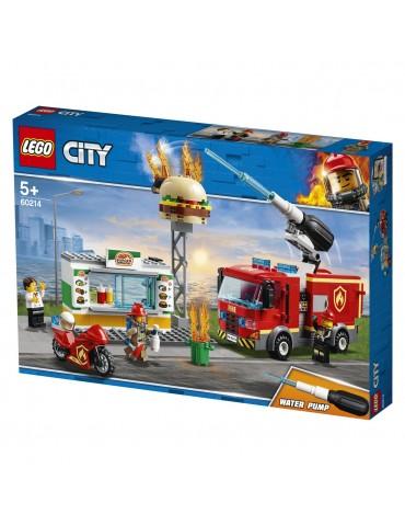 LEGO City klocki Na ratunek w płonącym barze
