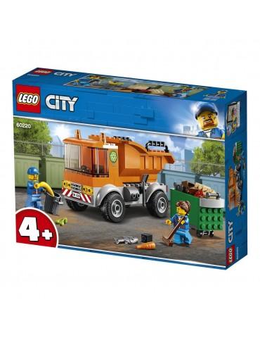 LEGO City klocki Śmieciarka
