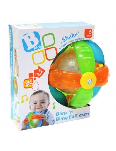 B-Kids zabawka interaktywna Świecąco-grająca piłeczka