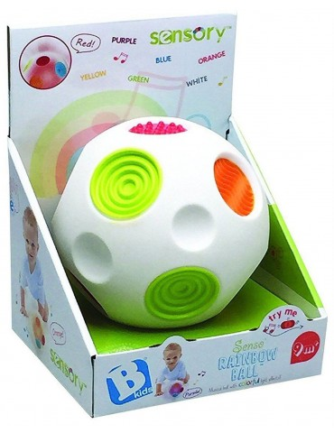 B-Kids Sensoryczna tęczowa piłka