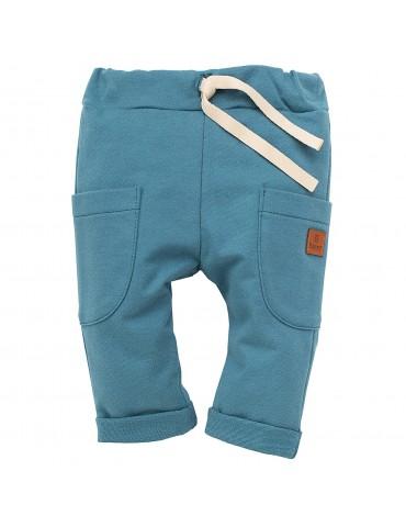 Spodnie turkusowe HAPPY LLAMA 62-86 Pinokio