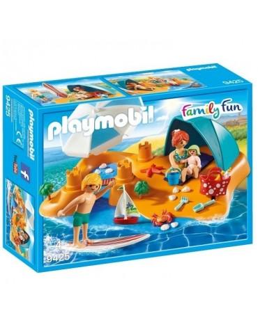 Playmobil Family Fun Rodzina na plaży