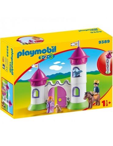 Playmobil 1.2.3 Zameczek z wieżą do układania