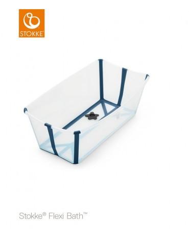 Stokke® Flexi Bath®, przezroczysty niebieski