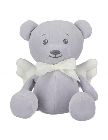 Yosoy Angel Teddy Bear szary