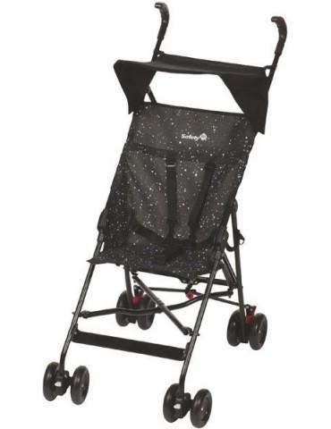 Wózek spacerowy Safety Peps z daszkiem czarny