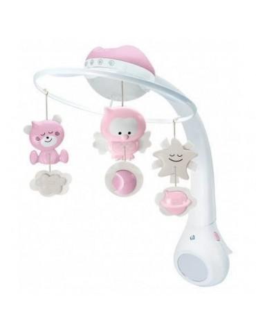 Infantino Projektor Muzyczna Karuzelka różowa