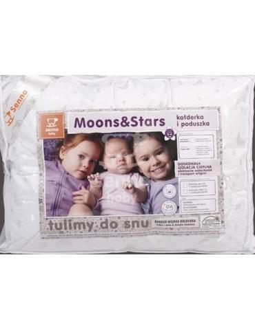 Senna Baby Kołderka i poduszka Moons&Stars