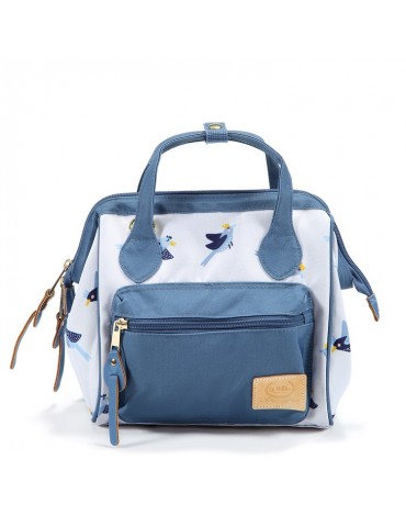 La Millou mini plecak/torebka Dolce Vita (Hello worlds Birds)
