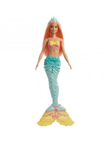 Barbie Dreamtopia Lalka Syrenka Turkusowa
