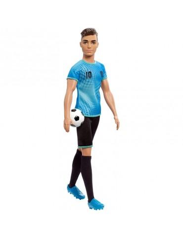 Barbie Lalka Ken Piłkarz