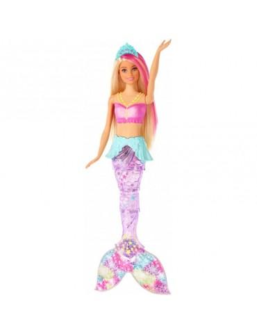 Barbie Dreamtopia Magiczna Syrenka z falującym i świecącym ogonem