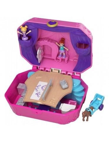 Polly Pocket - Rozkładany kompaktowy minizestaw Teatrzyk