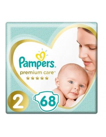 Pampers Premium Care Pieluchy jednorazowe rozmiar 2 Mini 4-8 kg 68 szt.