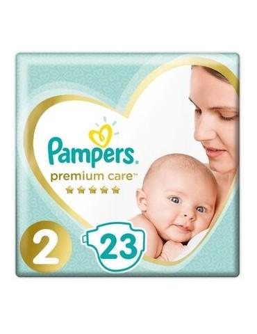 Pampers Premium Care Pieluchy jednorazowe rozmiar 2 Mini 4-8 kg 23 szt