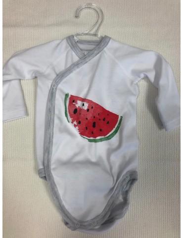 Body niemowlęce bawełniane ARBUZ  56-68 Vertini