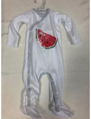 Pajac niemowlęcy bawełniany ARBUZ 56-68 Vertini