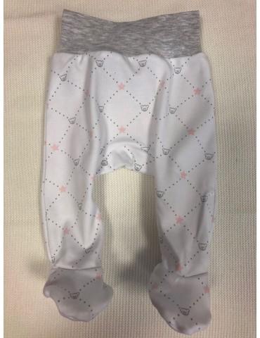 Półspioch niemowlęcy bawełniany GWIAZDKI róż 56-68 Vertini