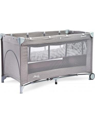 Łóżeczko turystyczne Basic Plus Caretero (grey)