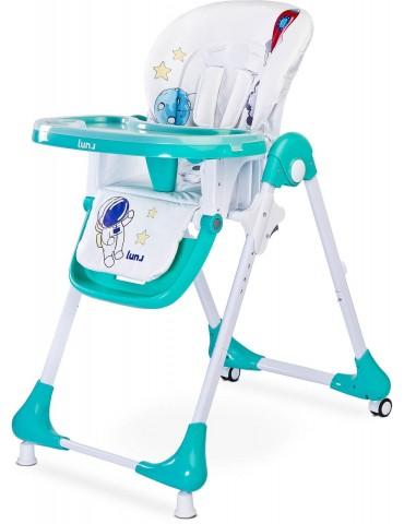 Krzesełko do karmienia Luna Caretero (mint)