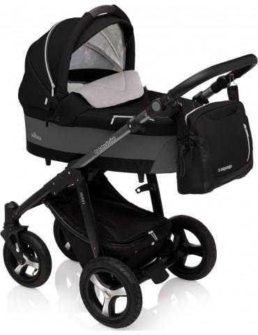 Wózek wielofunkcyjny Husky Lupo Baby Design (czarny)