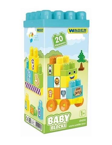 Wader Baby Blocks 20 szt.