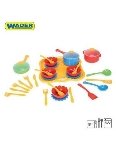 Wader Party World zestaw obiadowy 31el.