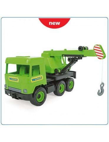 Wader Middle Truck Dźwig zielony w kartonie