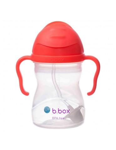 NOWY B.Box 2019 Innowacyjny Bidon ze słomką Arbuzowy