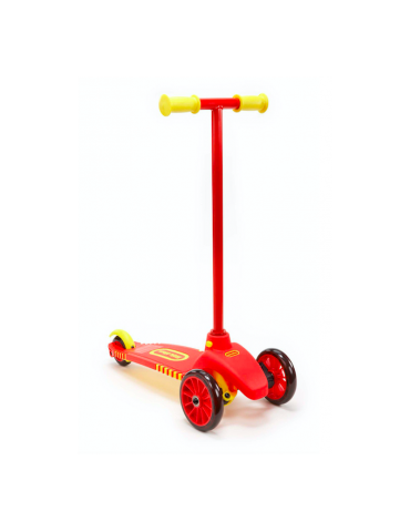 Little Tikes Hulajnoga trzykołowa czerwona-żółta