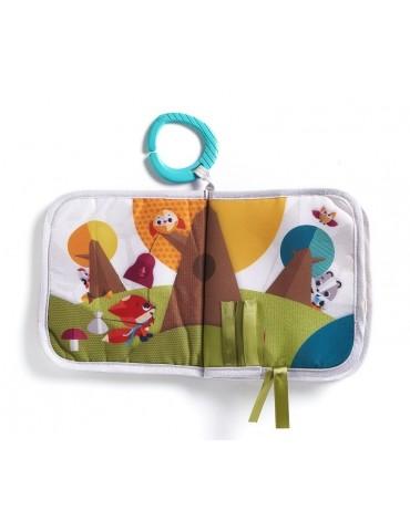 Tiny love Książeczka edukacyjna dla dziecka Moje Podróże Zabawa na łące