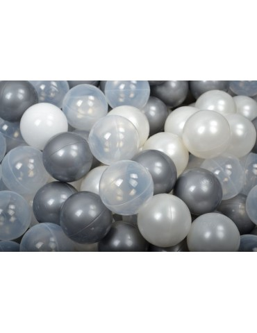 Zorin piłki do suchego basenu 50szt biała perła