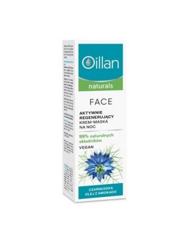 OILLAN Naturals regenerujący krem-maska na noc 50 ml