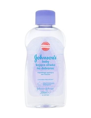 Johnson's Baby bedtime kojąca oliwka na dobranoc 6m+