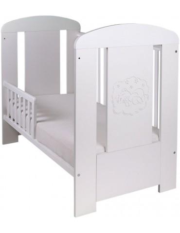 Drewex łóżeczko Miś Biały comfort tapczanik