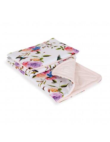 Ceba Koc dziecięcy (75/100)z poduszką(30/45)z wypełnieniem Flora&Fauna Flores