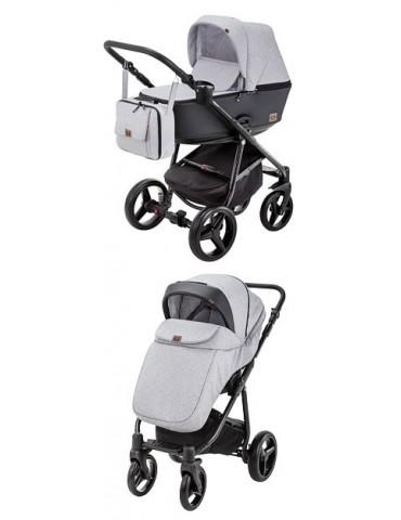 Adamex REGGIO wózek dziecięcy 2w1 głęboko spacerowy