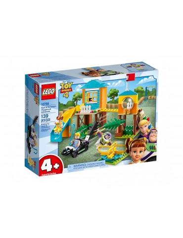 LEGO 4+ Przygoda Buzza i Bou na placu zabaw