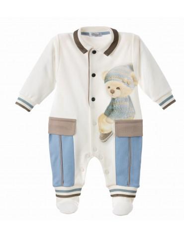 Pajac niemowlęca bawełniana MICHAŁEK 62-74 Sofija
