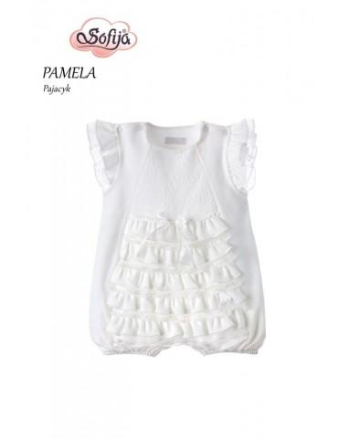 Pajacyk Rampers niemowlęcy bawełniany PAMELA 62-74 Sofija