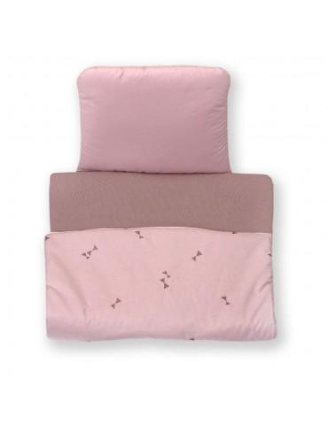 Amy Pościel do wózka i kołyski kołderka i poduszka Pure Rose