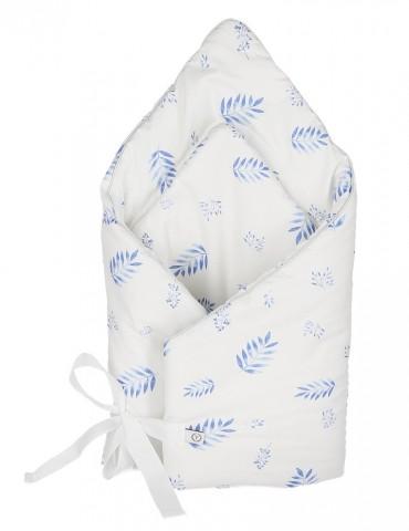 Yosoy Rożek 100 % organic cotton GOTS Blue leaves