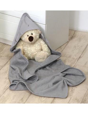 Amy Okrycie Kąpielowe 100×100 Pure Grey