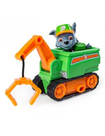 Psi Patrol Ultimate Rescue Pojazd z figurką Rocky i  kolorowanka
