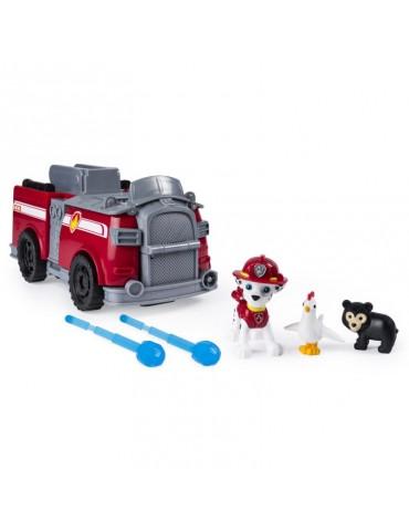 Psi Patrol Transformujący pojazd strażacki z figurką Marshall 2w1