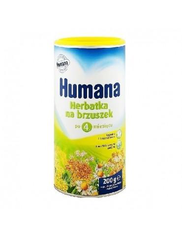 HUMANA Herbatka na brzuszek po 4 miesiącu