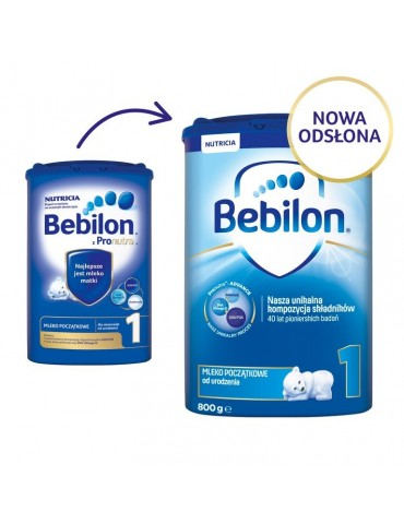 Mleko modyfikowane Bebilon 1 od urodzenia 800g