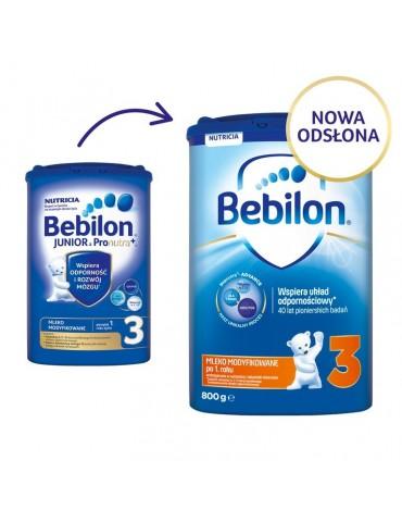 Mleko modyfikowane Bebilon Junior 3 po 1. roku życia 800g