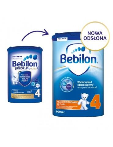 Mleko modyfikowane Bebilon Junior 4 z Pronutra+ po 2. roku życia 800g