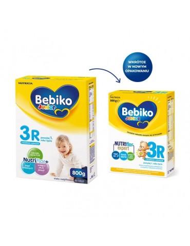Mleko modyfikowane Bebiko Junior 3R NutriFlor+ 800g po 1 roku z kleikiem ryżowym